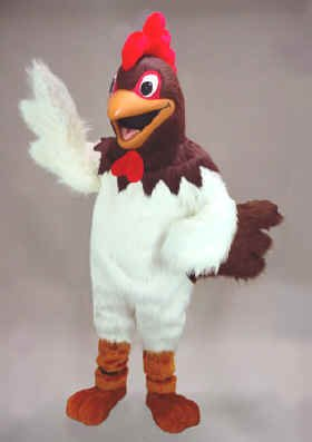 (Randy Rooster Mascot Costume)
