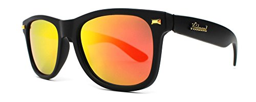 Knockaround Fort Knocks Polarized Sunglasses, Matte Black / - Knockaround Sunglasses