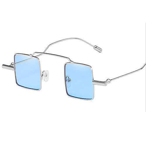 Mode Couleur Facultative Lunettes pour Dames 100 Les Soleil Multi silverframeblue UV400 De Surdimensionné De q46t4B