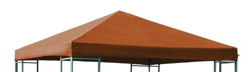 DEGAMO Universal-Ersatzdach für Pavillon 3x3 Meter, terracotta