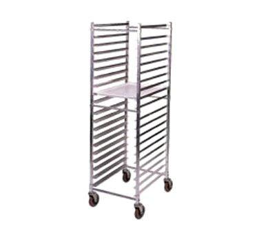 - Win-Holt ADE1820B/KDA Aluminum 20 Pan End Load Bun Pan Rack-ADE1820B/KDA