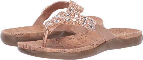 Kenneth Cole REACTION Women's Glam-athon Rose Gold Smooth 9.5 M US