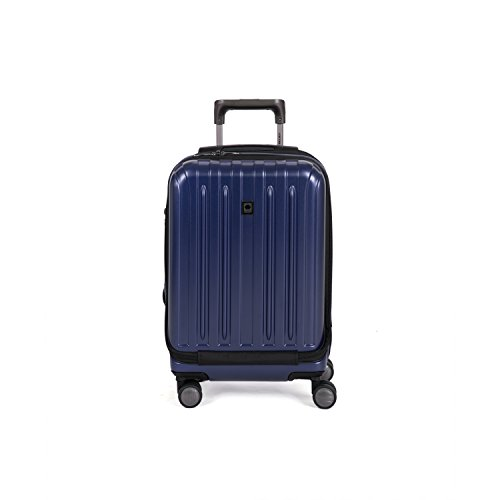 Delsey Helium Titanium 19'' International Carry-On Expandable Spinner Luggage, Navy by DELSEY Paris