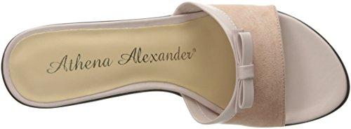 Athena Alexander Mujeres Elated Dress Sandal Pink Suede