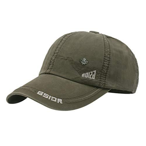 DIOMOR Unisex Distressed Low Profile Denim Baseball Cap Snapback Dad Hat Ponycaps Adjustable Retro Plain Trucker Hat