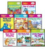 Vocabulary Tales Set 1: Includes Bear Goes Shopping, Dinner Time!, Emily and Mortimer, Kit Visits Kat, Little Piggy's Big Day, One of a Kind!, Safely Ever After, and School Rules (8-Book Set)