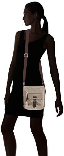 Betty Barclay K-005 Td - Bolso de hombro de Material Sintético Mujer 6x22x22 cm (B x H x T)