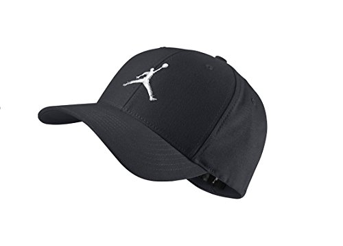 d4bec84de054 Nike Mens Jordan Unisex Flex Fit hat Black White 606365-014 Size  Small Medium - Buy Online in UAE.