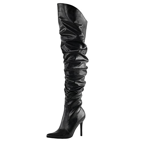 Pleaser Day and Night , Bottes classiques femme