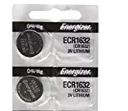 Energizer CR1632 Lithium Battery 3V (2 Batteries per