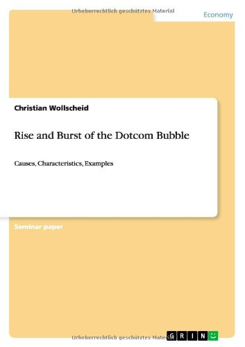 Rise and Burst of the Dotcom Bubble pdf epub
