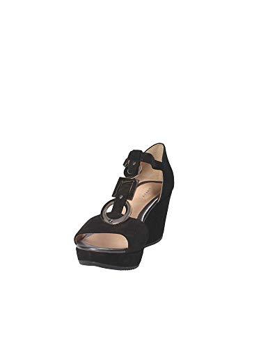 Stonefly Zeppa Sandalo Donna 110272 Nero 37 OZBwqO