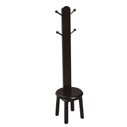 (Gi'Mark Children's Espresso Deluxe Clothes Tree )