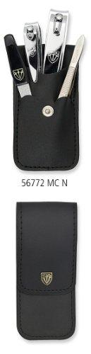 Drei Schwerter   Exklusives 4-teiliges Maniküre - Pediküre - Nagelpflege-Set / Etui   Markenqualität (677211)