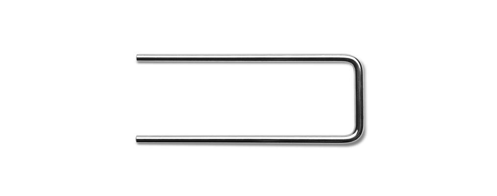 Key Surgical IS-527514 Instrument Stringer, U-Shaped, Stainless Steel, 14'' x 2.75''