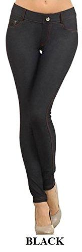Jeans Leggings Tights - 3