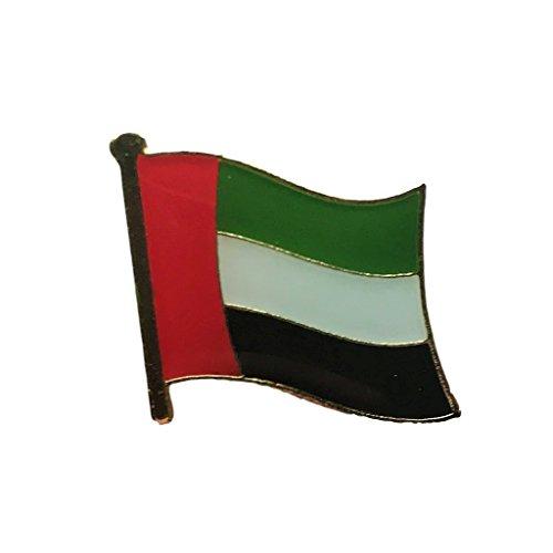 (Backwoods Barnaby United Arab Emirites Flag Lapel Travel Pin (UAE broach, 0.75