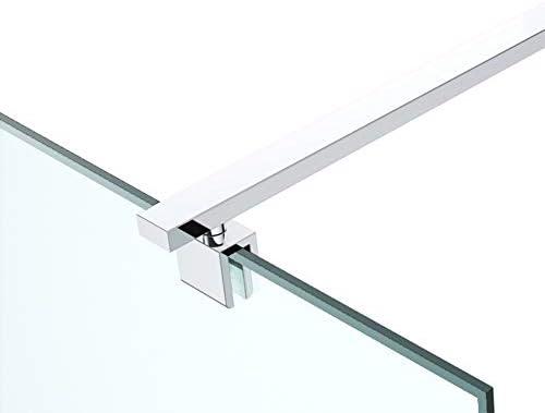 Barra de sujeción para mampara de ducha (80 – 140 cm, rectangular ...