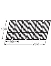 Music City Metals 60083 Gloss Cast Iron Cooking Grid Replacement for Select Centro and Cuisinart Gas Grill Models, Set of 3