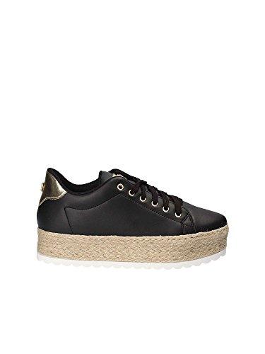 Donna Black FLMRI2LEA12 Black Corda Guess Miriam Sneaker Scarpe 05nqwv