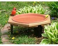 Cheap Songbird Essentials SE508 Classic 17 Garden Bird Bath (Set of 1)