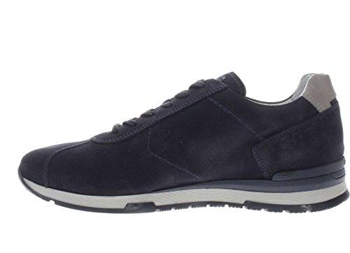 Nero Giardini Uomo Sneaker P800236U 200 Sneaker in Camoscio blu