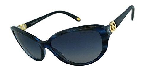 Tiffany & Co. Tf4045 100% Authentic Women's Sunglasses (8113/4L - Ocean Blu - 8113, 4L - blue gradient gray)