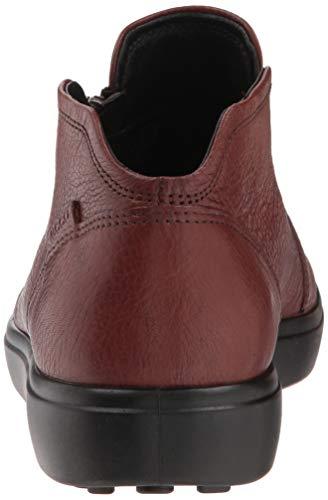 ECCO Bootie Low Soft Zip 7 Women's Sneaker Cognac wqCfBw4U