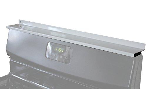 StoveShelf - White - 30 - Magnetic Shelf for Kitchen Stove, Spice Rack, Kitchen Storage Solution, Zero Installation …