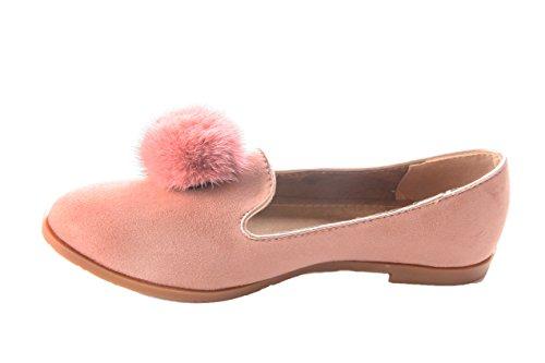 Mojoshu - Zapatos de Vestir mujer Rosa