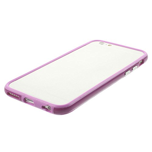 "iProtect Protection Frame Apple iPhone 6 (4,7"") Bumper Schutzhülle lila"
