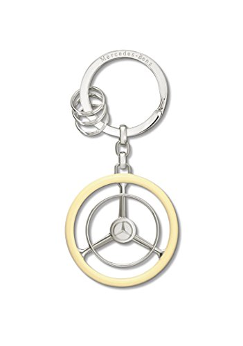 - Mercedes Lifestyle, Classic Collection, Steering Wheel Key Ring.