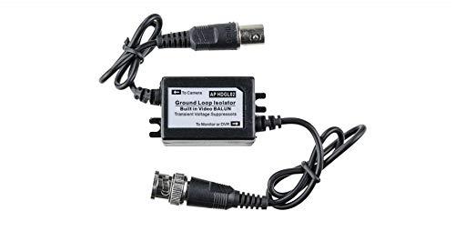 - HDVD Ground Loop Isolator with Video BALUN for HD-TVI/CVI / A-HD/Analog Camera