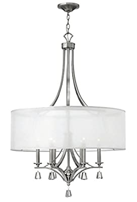 Fredrick Ramond FR45608BNI Six Light Foyer Pendant