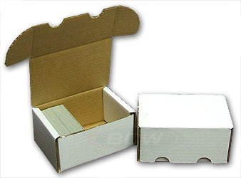 (BCW 1-BX-300 300 Count Storage Box)
