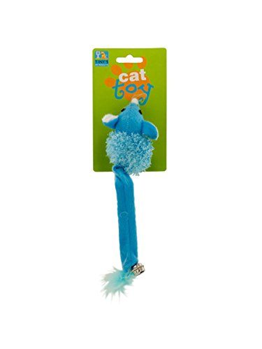 mouse with bell cat toy, Case of 96