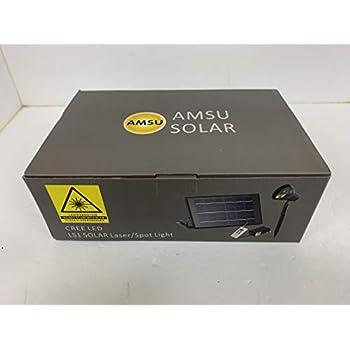 Amazon Com Solar Powered Star Projector Amp Cree Led