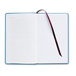 Record Ledger Book, Blue Cloth Cover, 150 7 1/2 x 12 Pages, Sold as 1 Each
