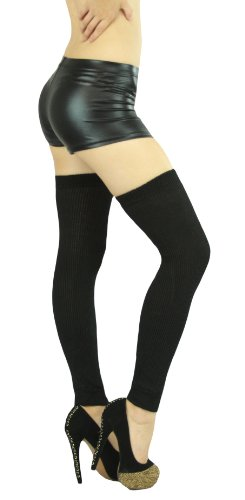 ToBeInStyle Womens Long Thigh Hi Separated Leg Warmers