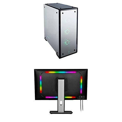 CORSAIR Crystal 570X RGB Mid-Tower Case, 3 RGB Fans, Tempered Glass – Mirror Black (CC-9011126-WW)