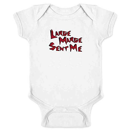 Pop Threads Large Marge Sent Me Funny White 6M Infant Bodysuit