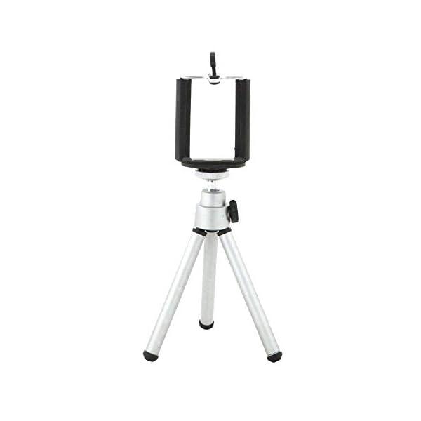 RetinaPix HIFFIN Mini Table TOP Aluminium Telescopic Tripod with Mobile Clip