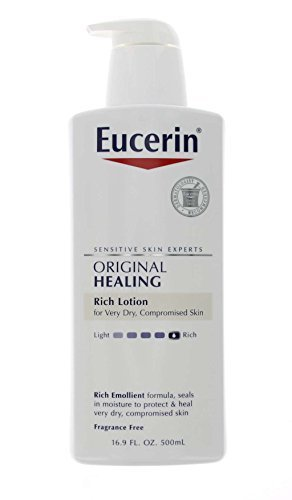 Eucerin Original Healing Lotion 16.90 Oz (Pack of 6) by Eucerin