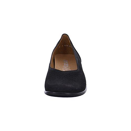ara Women's Ballerina Andros 12-32704-01 black size 37 to 41 Black obwj30dz6