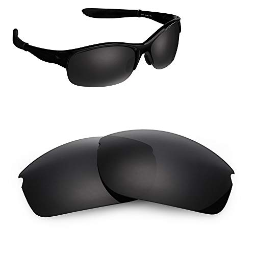 33d0f8f27cb Polarized Replacement Lenses for Oakley Commit SQ OO9086 Sunglasses Black 01
