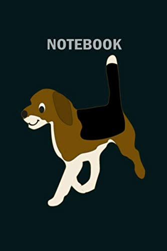 NoteBook: cbd for pets benefits hemp oil heals beagle dog - 50 sheets, 100 pages - 6 x 9 inches