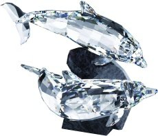 Swarovski Crystal Dolphin Decoration Figurines 5069654 ()