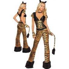 Damen Tiger Kostum Amazon De Bekleidung