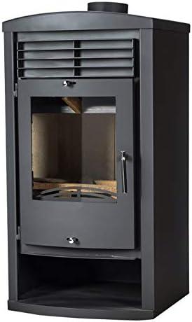 Quemador de leña para estufa de leña, 9/14 kW, potencia de calefacción, quemador de combustible sólido