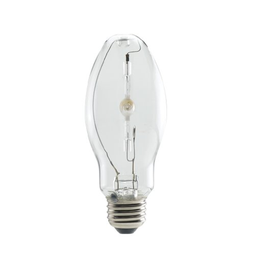 Bulbrite 663150 MH150/U/MED 150W Pulse Start Metal Halide for Enclosed Fixtures Universal Burn ED17 with Medium Base, Clear
